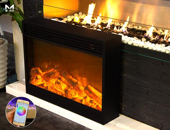 YN-1020电壁炉(别墅壁炉)